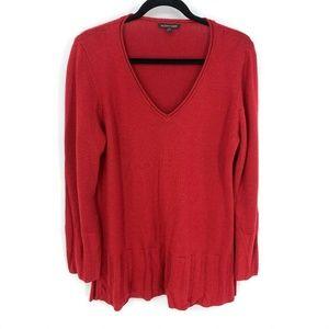 Eileen Fisher 100% Merino Wool Tunic Pullover